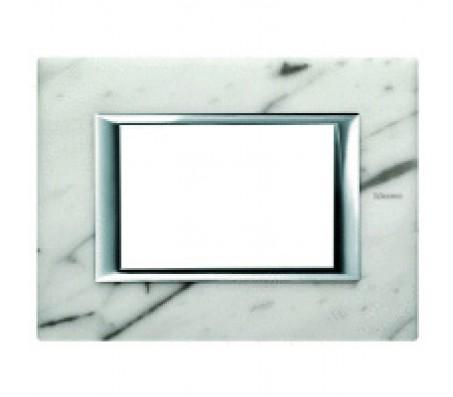 Bticino axolute placca marmo Carrara