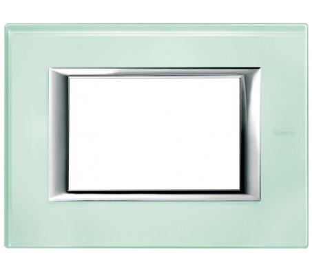 Bticino axolute placca vetro Kristall