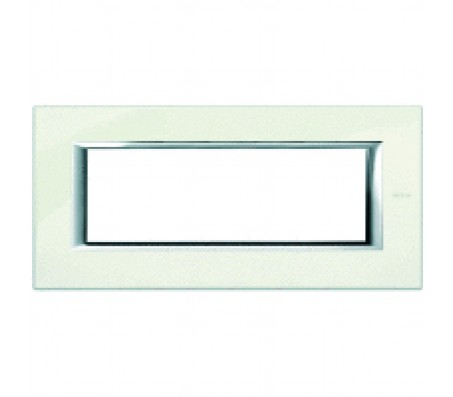 Bticino axolute placca 6P bianco Limoges