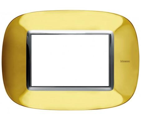 Bticino axolute placca oro lucido