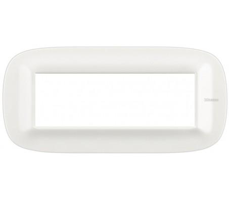 Bticino axolute placca 6P Corian Glacer White