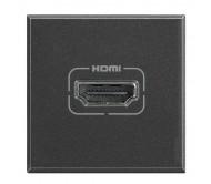 Bticino axolute presa HDMI antracite