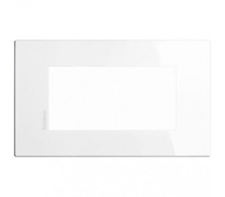 Bticino Axolute Air placca 4 moduli bianco