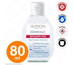 Igienizzante mani dermogel Glenova 80ml