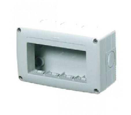 Gewiss system contenitore 4 posti orizzontale IP40