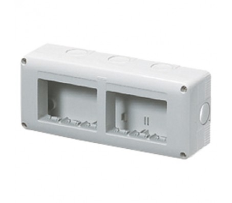 Gewiss system contenitore 6 posti orizzontale IP40