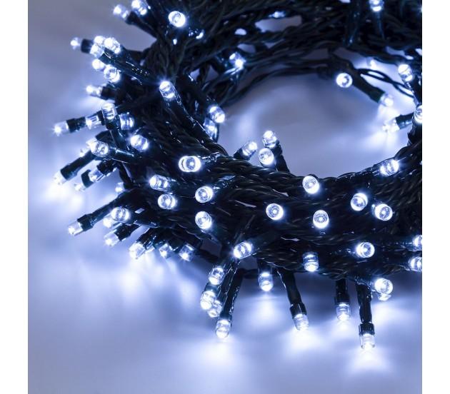Catena luminosa 1200 miniled bianco freddo for Lampade a led lunghe