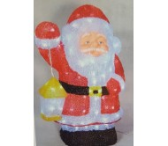 Babbo Natale 3D a led