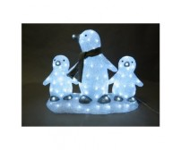 Pinguini luminosi a Led