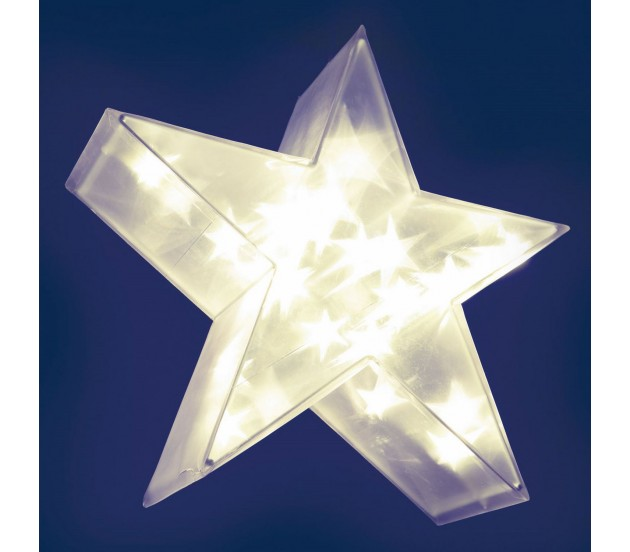 Stella Di Natale Tridimensionale.Stella Magic 3d