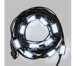 Catena 10 Strobo ovali Led