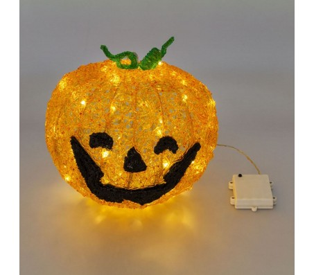 Zucca Halloween a led