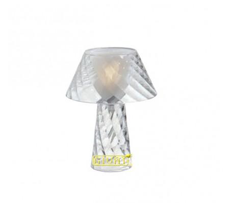 Lampada da tavolo Emporium Tata trasparente