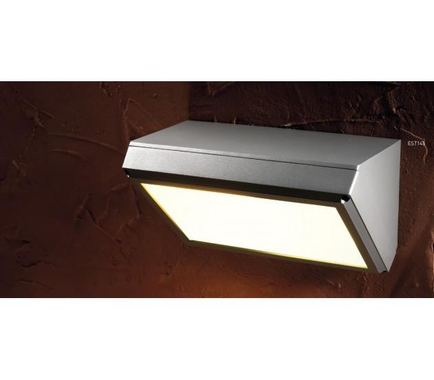 Lampade da parete per esterno angolare grenada est145 for Lampade per esterno