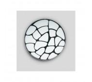 Plafoniera da soffitto bianco nero Droop di GD Service by Lam