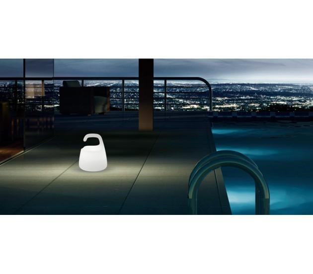 Lampada da tavolo ricaricabile led rgb pan curling - Lampada led da tavolo ricaricabile ...
