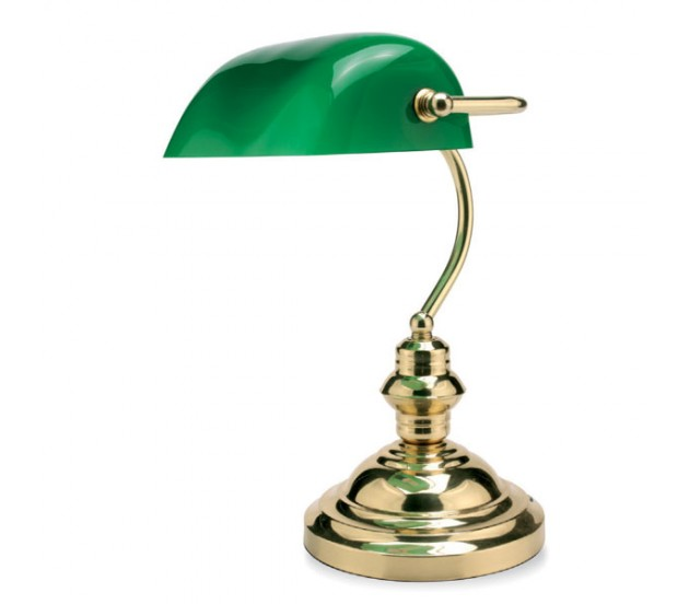 Lampada da studio classica farwest - Lampada da tavolo classica ...