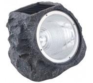 Lampada energia solare a led design pietra