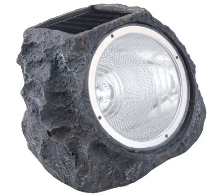 Lampada da giardino pietra solare a Led