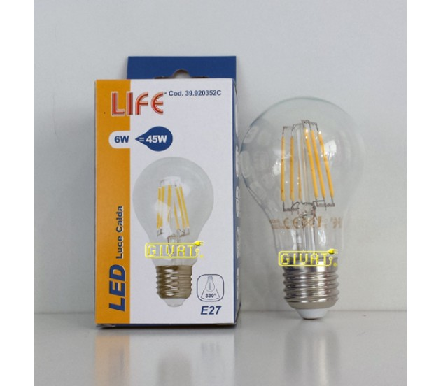 Lampadine a filamento led e27 7 5w for Lampadine a filamento led
