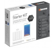 Bticino Living Now kit starter gestione luci prese