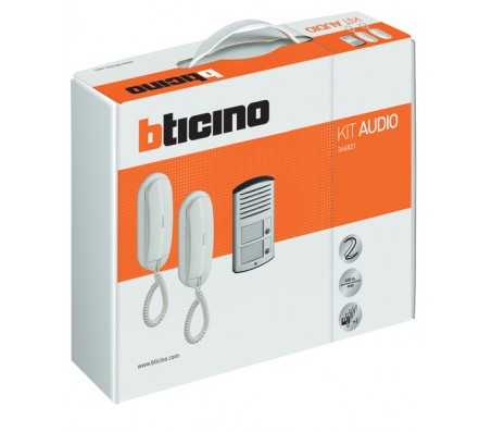 Bticino Kit audio bifamiliare 2 fili