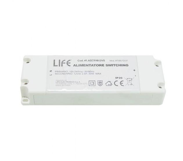 alimentatore switching per led 12v 30w