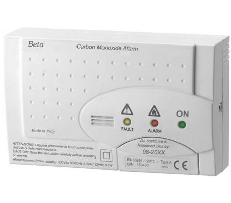 Rivelatore Monossido di Carbonio Beta 760 CO