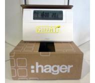 Cronotermostato digitale da parete Hager 56130
