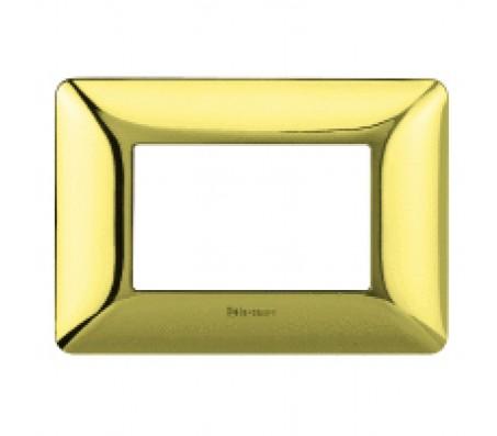 Bticino matix placca oro lucido