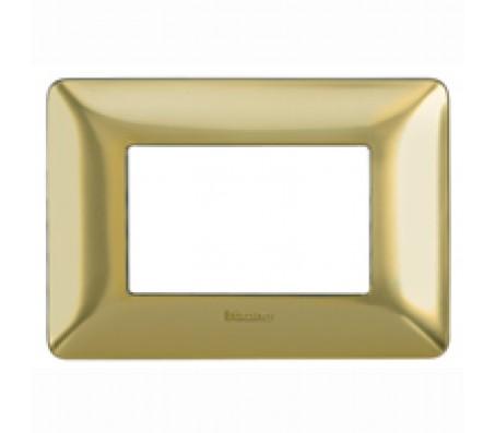 Bticino matix placca oro satinato