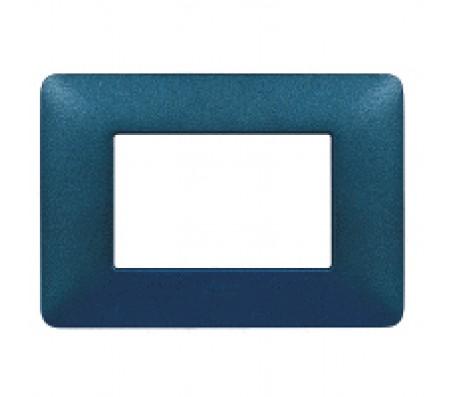 Bticino matix placca blu mercurio