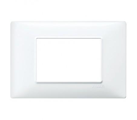 Vimar Plana Placca 3 moduli bianco