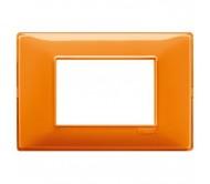 Vimar Plana Placca 3M Reflex arancio