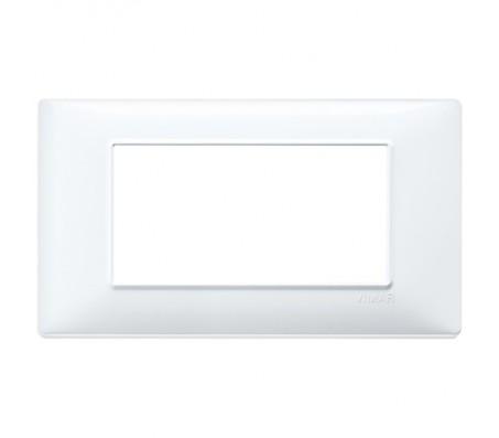 Vimar Plana Placca 4 moduli bianco