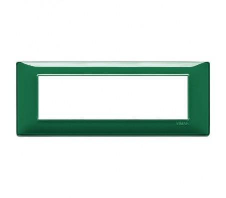 Vimar Plana Placca 7 moduli Reflex smeraldo