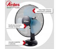 Ventilatore da tavolo Ardes diametro 40