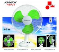 Ventilatore da tavolo Johnson Aria 34
